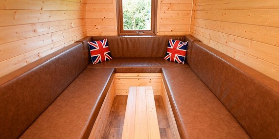 Camping Pods On Hadrian S Wall Roman Wall Lodges Offer